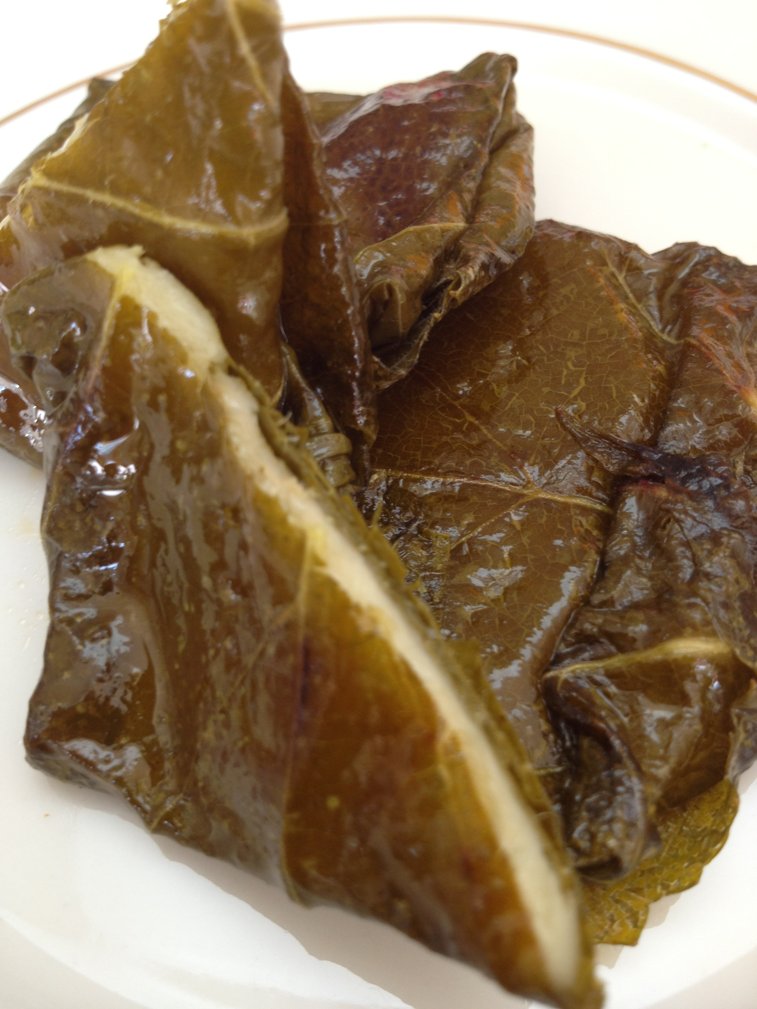 Cheese Stuffed Grape Leaves