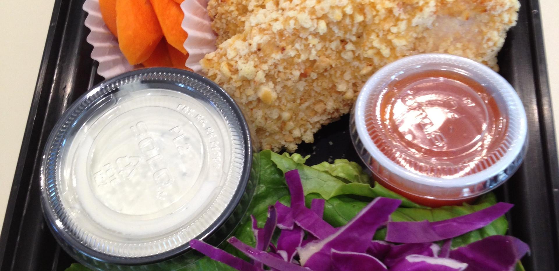 Buffalo Bleu Cheese Chicken Salad