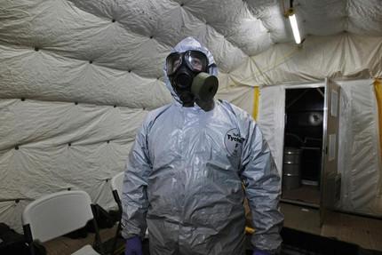How sarin gas kills you- The Boston Globe