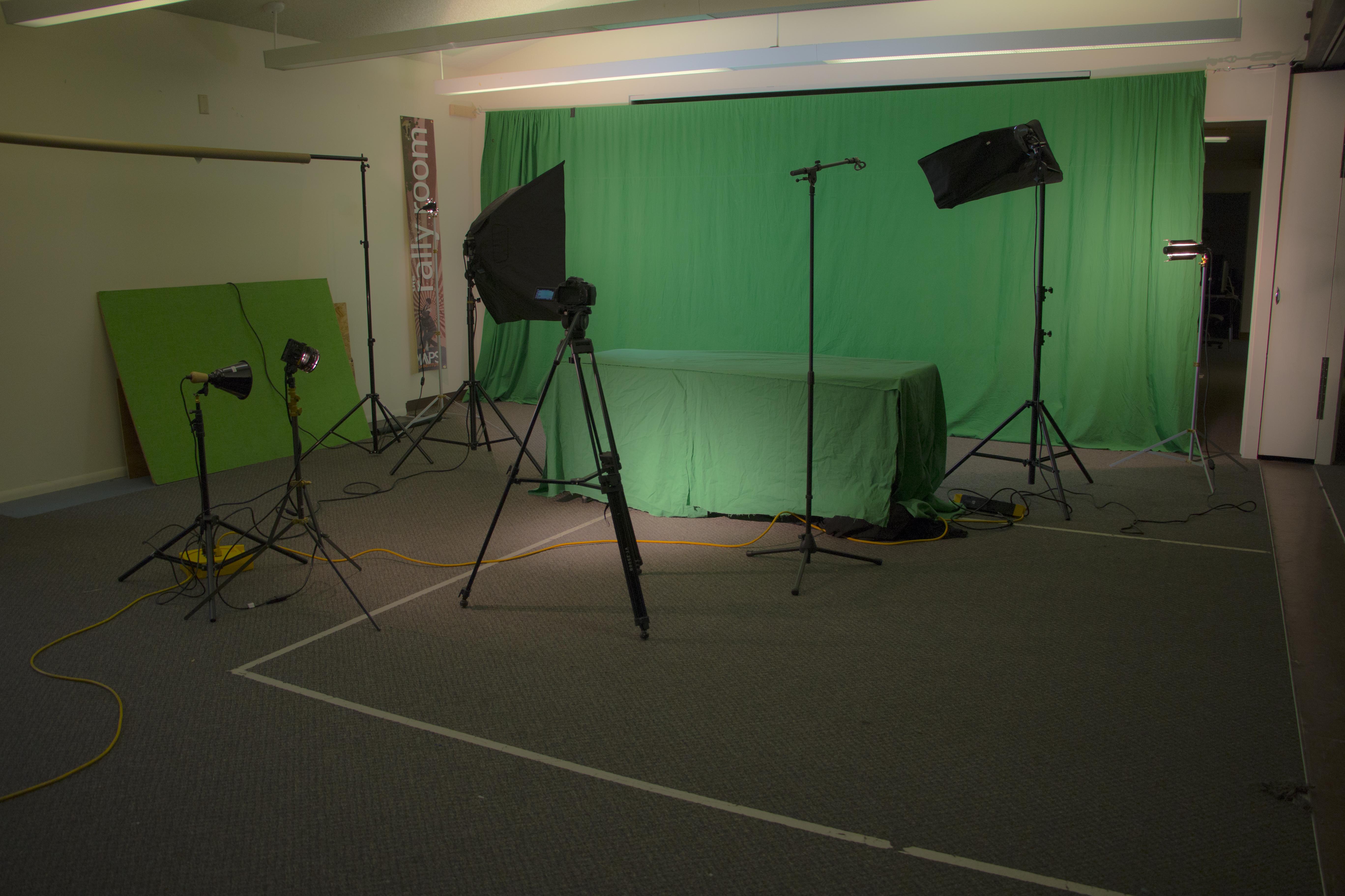 Greeen Screen studio
