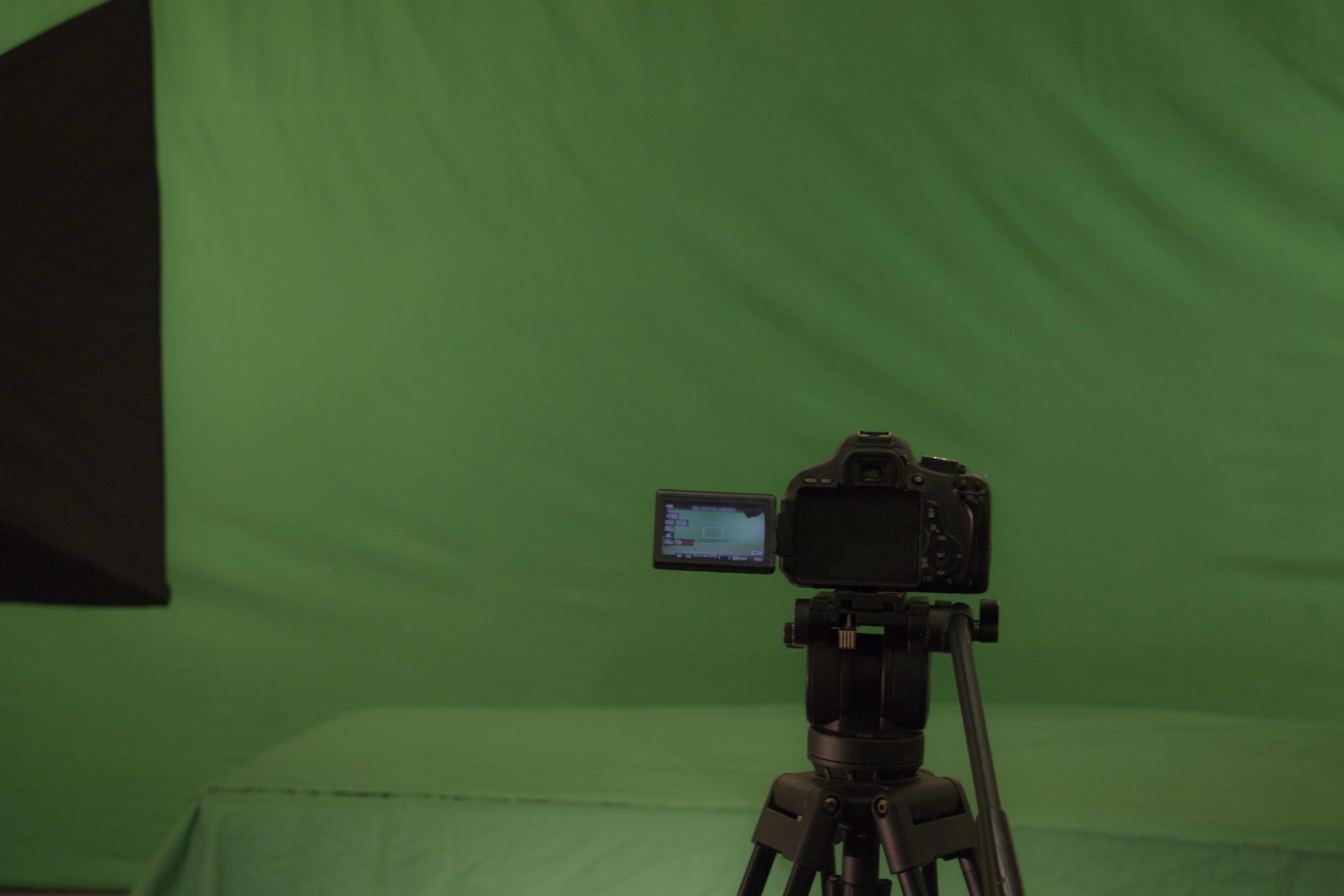 Green Screen with Camera