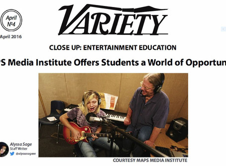 MAPS Media Institute Offers Students a World of Opportunities