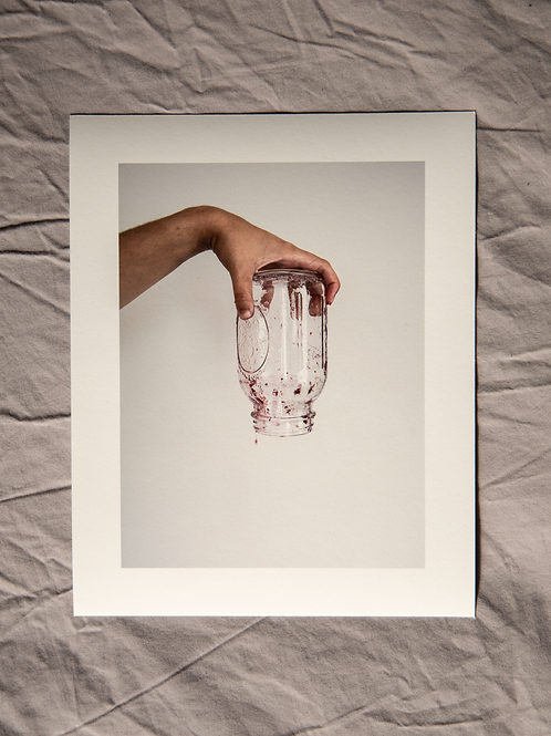 "The Last Drop Was Never Enough - 8"" x 10"" Archival Print"