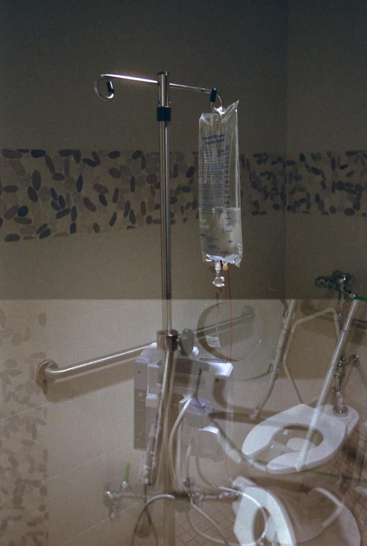 Reality in a Hospital Bathroom