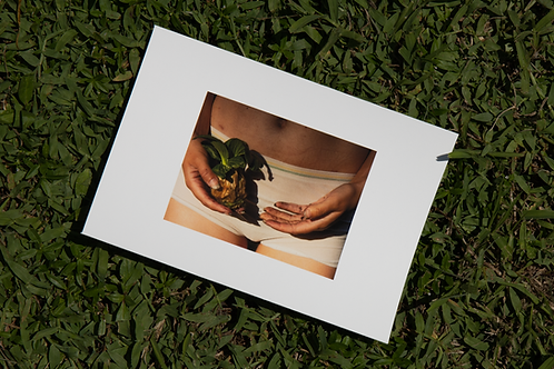 Nurturing the Withered Remains - 5 by 7 Archival Signed Print