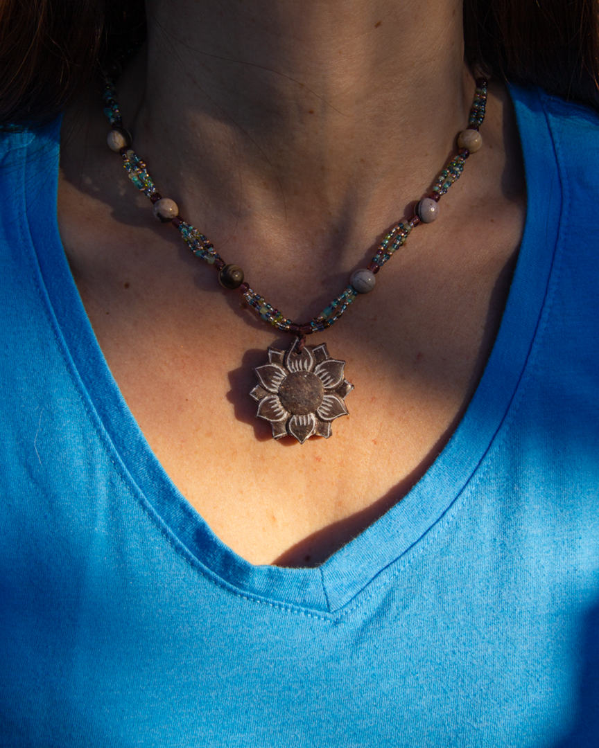 Jewelry by Yarn and Stones
