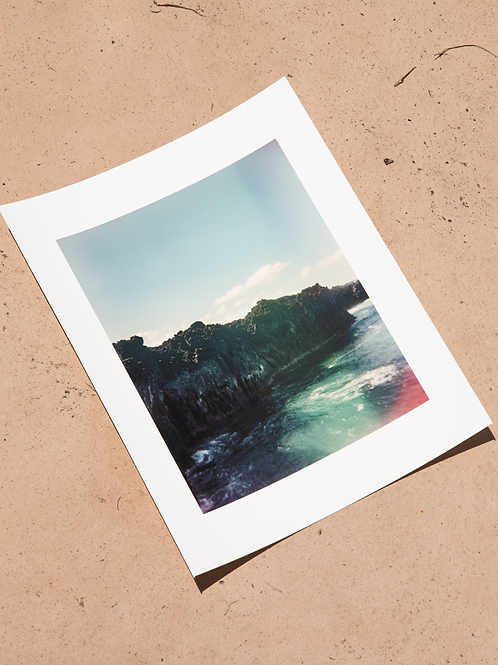 """Cliffs of Maui - 8"""" x 10"""" Archival Signed Print"""