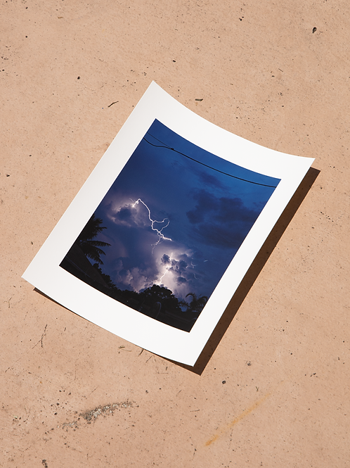 "Storm Season -8"" x 10"" Archival Signed Print"