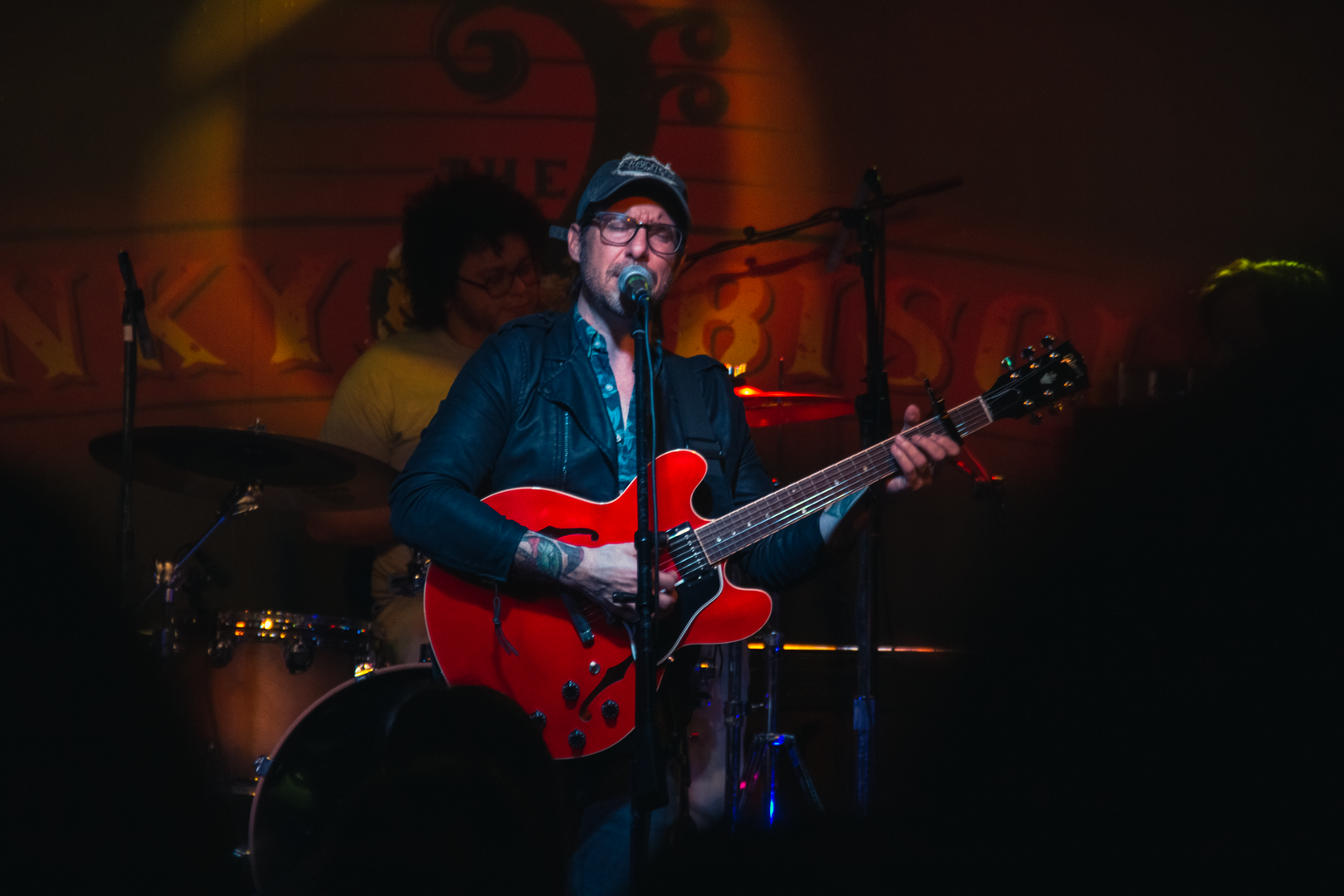 Kristopher James at the Funky Biscuit, Boca Raton, FL