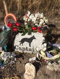 Captain's headstone