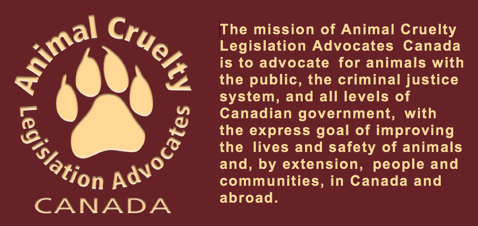 News-ACLA-Canada | Animal Cruelty Legislation Advocates Canada