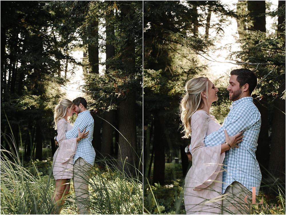 Yaddo Gardens Engagement Photographer Saratoga Springs