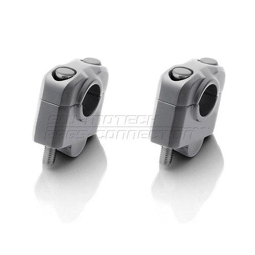 Handlebar Riser 25mm Silver