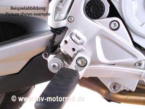 MV Motorrad-Technik Lowered / Adjustable Rider Footrest