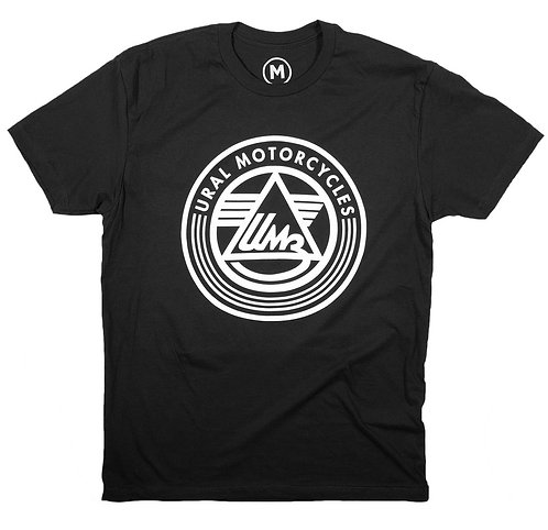 Ural Logo T-Shirt - Black