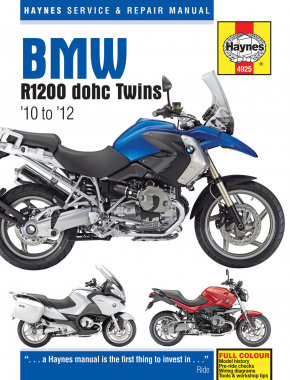 Haynes Repair Manual - BMW R1200 DOHC Twins - 4925