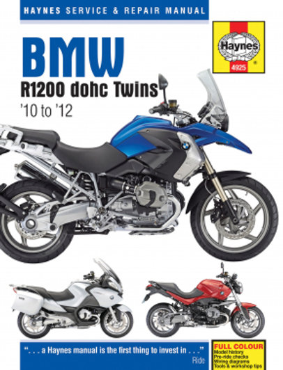 Haynes Repair Manual - Bmw R1200 Dohc Twins