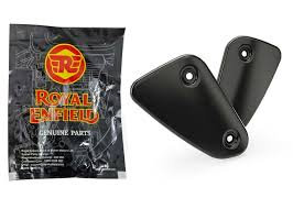 Royal Enfield Heel Guard Black Pair