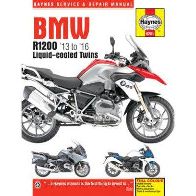 Haynes Repair Manual - BMW R1200 Liquid-Cooled Twins - 6281