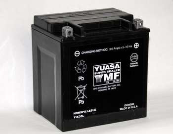 Yuasa YIX30L Factory Activated Battery