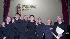 After the concert in La Paz