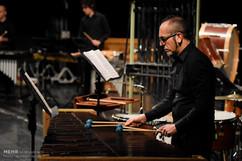 Greg in Tehran concert