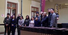 Bolivia tour - workshop at national conservatorio at La Paz