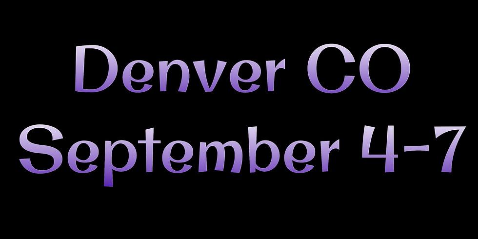 Denver Co September 4-6