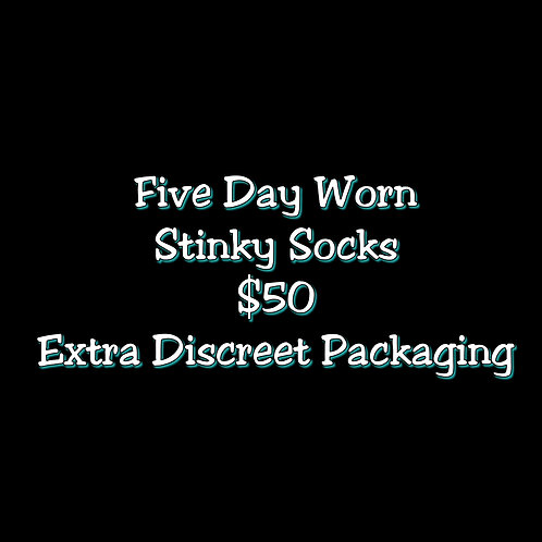 Five Day Worn StinkySocks