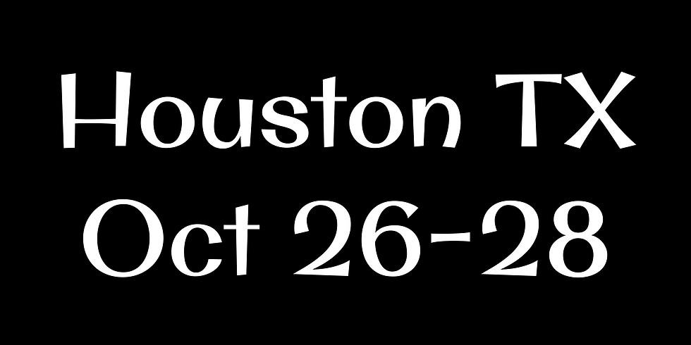 Houston, Tx October 26-28