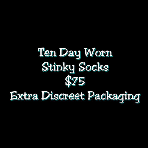Ten Day Worn Stinky Socks