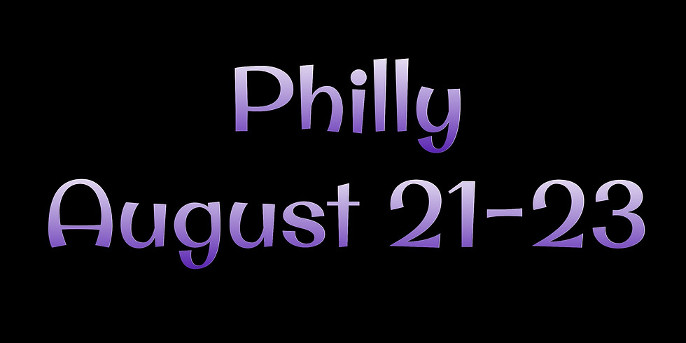 Philadelphia, PA Aug 21-23