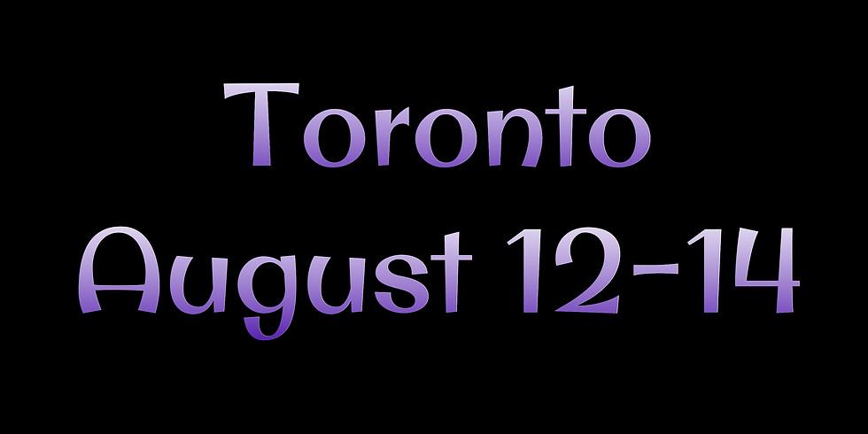 Toronto Canada August 12-14