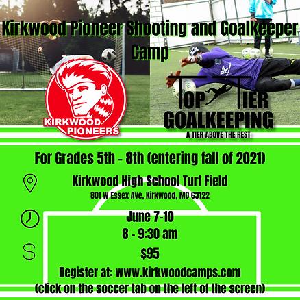 Kirkwood Pioneer Shooting and Goalkeeper