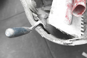 Concrete Bucket & Trowel