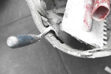 Bucket Concrete & Cazzuola