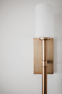 Lisa Clark Design Winnipeg Manitoba Interior Design Brass Scone Hinkley