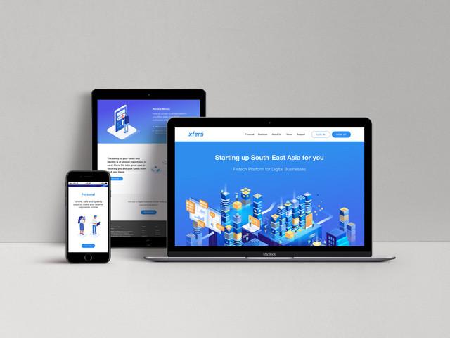 Xfers Homepage Revamp