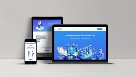 Xfers Website Revamp • 2018