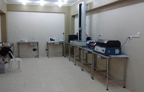 DESINOPE Footwear Test Lab in South America