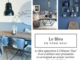 Le Bleu en Feng Shui