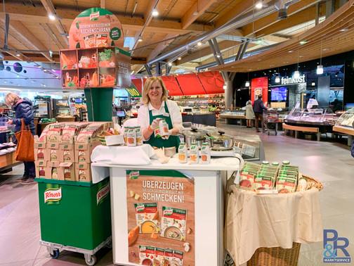 Promotion Knorr, P&R Marktservice