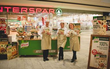 Promotion Knorr P&R Marktservice