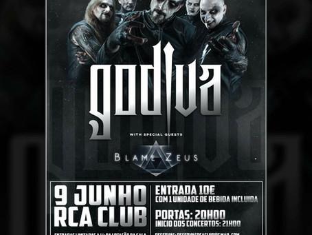 Godiva + special guests Blame Zeus live @ RCA Club