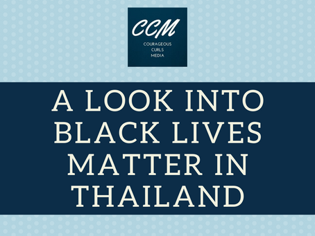 A look into the Black Lives Matter Movement in Thailand