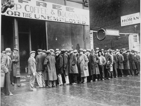 Job losses hit as low as the Great Depression