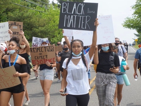 Black lives matter protester shares her experience