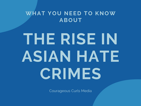Let's talk about the rise in Asian hate crimes