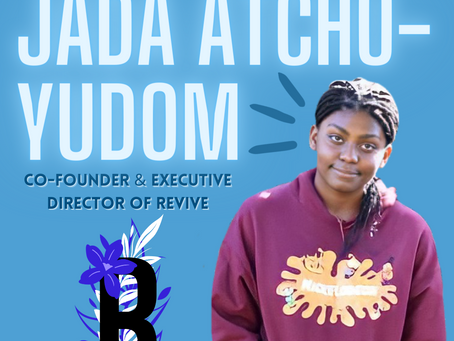 Q&A with Revive co-founder Jada Atchu-Yudom