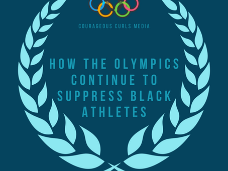 How the Olympics continue to suppress black athletes
